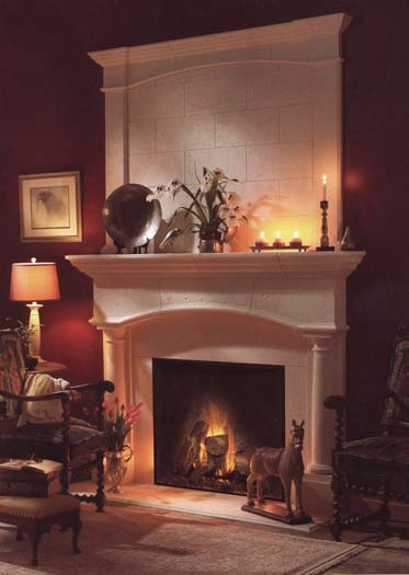 wood fireplace mantel plans