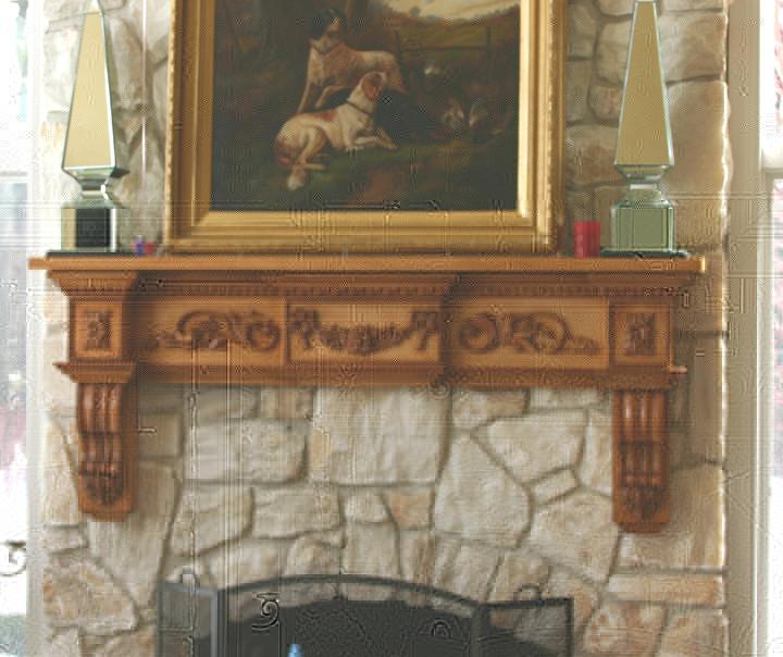 diy build a how cozy to mantel home fireplace shelf