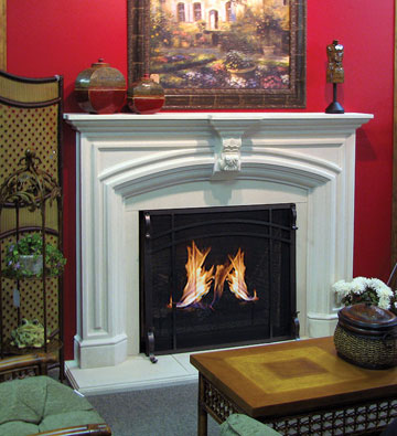 Mantels For Stone Fireplaces
