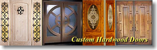 banner for hardwood doors