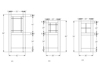 drawings of doors cad