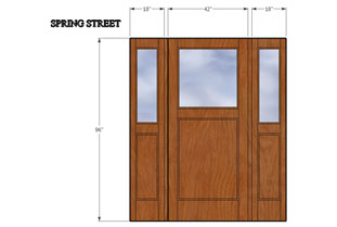 drawing of door
